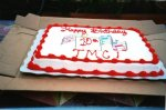 TMC's 10th birthday cake.